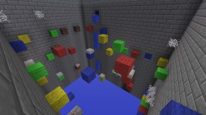 下载 Multi-Colored Parkour: The Death Penalty 对于 Minecraft 1.4.7